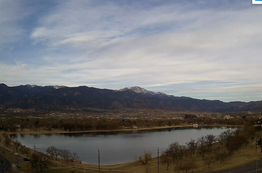 Prospect Lake from Colorado Springs
